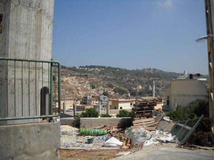Строительство Храма в палестинской деревушке Яфия